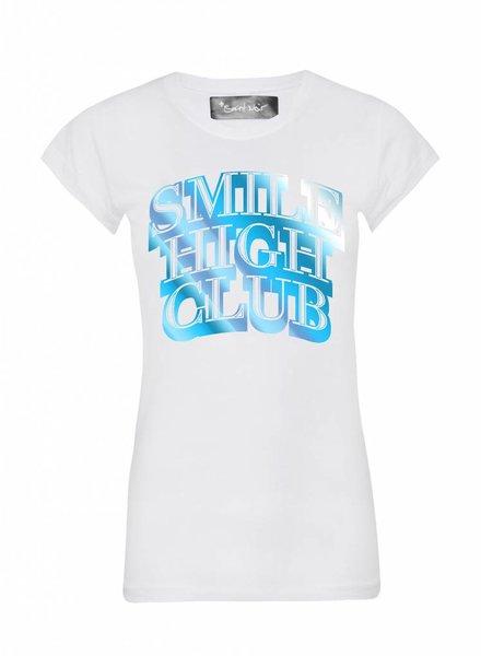 T-Shirt Skinny Cut Women - Smile High