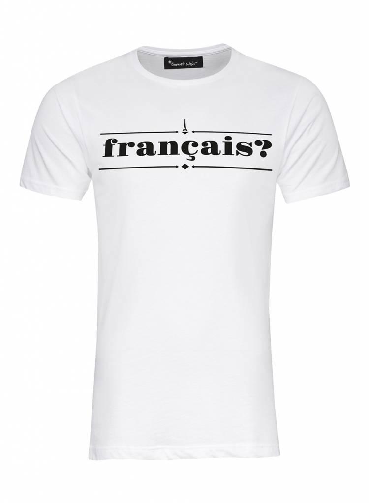 T-Shirt Herren - Francais?