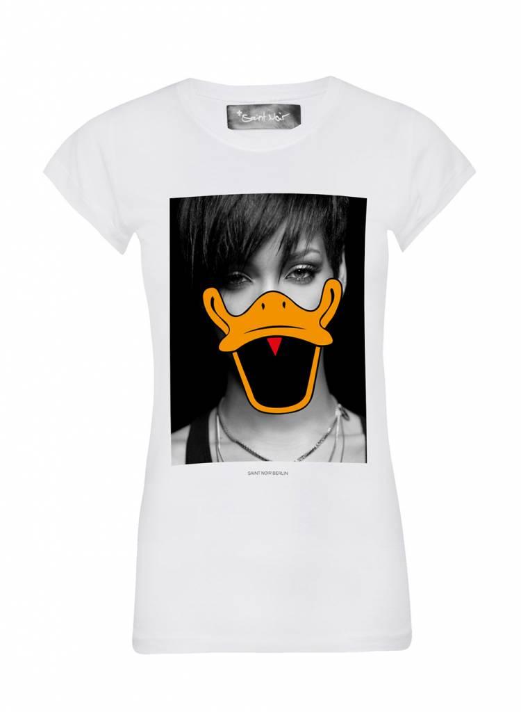 T-Shirt Skinny Cut Damen - Robyn - Duck Faces