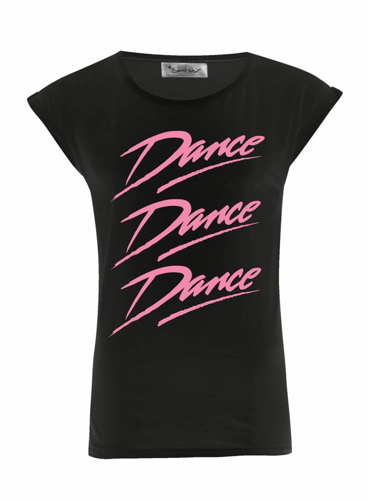 T-Shirt Rolled Sleeve Ladies - Dance