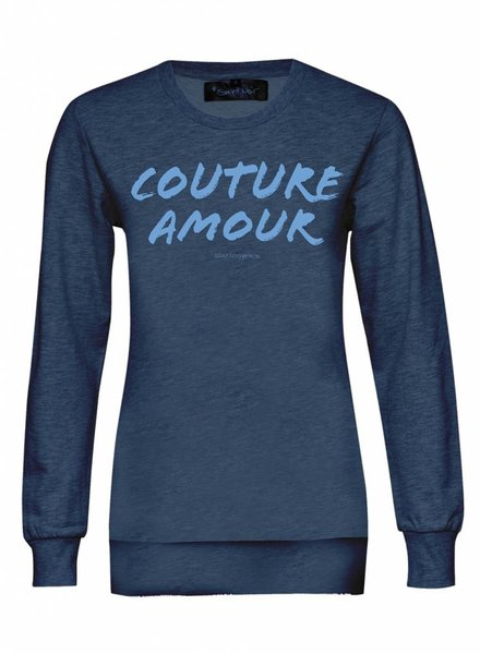 Sweatshirt Classic Cut Damen - Couture Amour