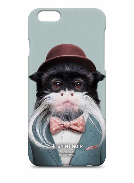 iPhone Case Accessoire - Emperor Tamarin - Zoo Portraits