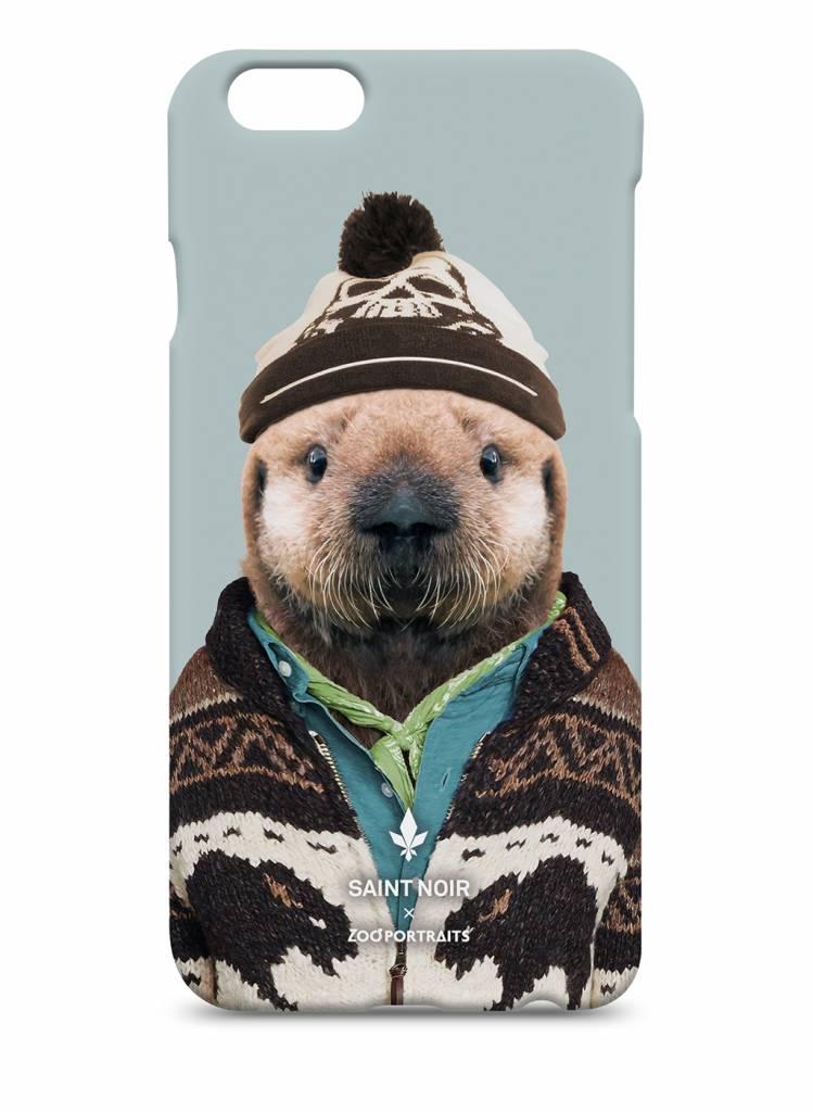 iPhone Case Accessoire - Little Otter - Zoo Portraits