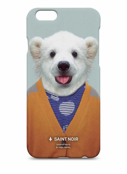iPhone Case Accessoire - Little Polar Bear - Zoo Portraits