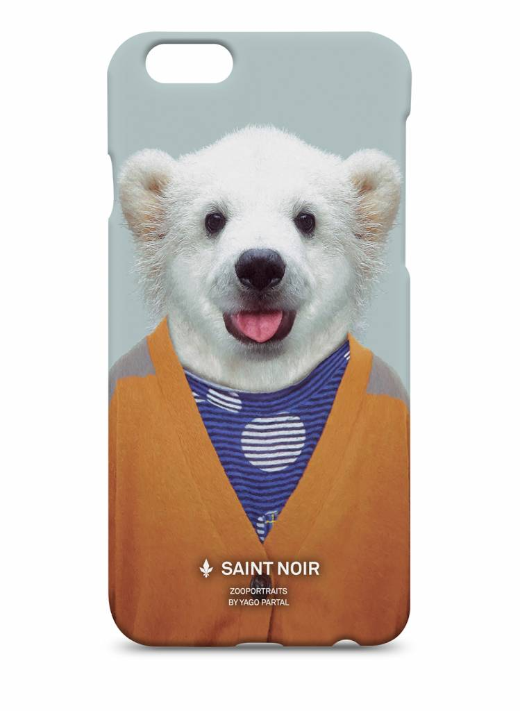 iPhone Case Accessoire - Little Polar Bear - Zoo Portraits