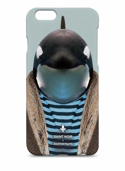 iPhone Case Accessoire - Little Whale - Zoo Portraits
