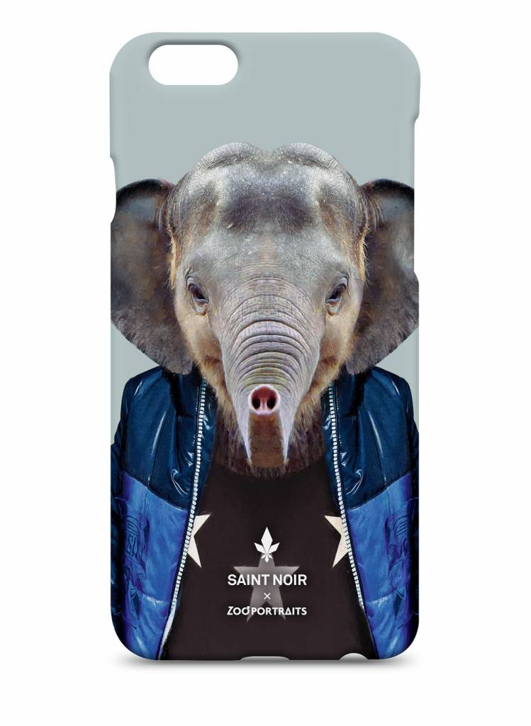iPhone Case Accessoire - Little Elephant - Zoo Portraits