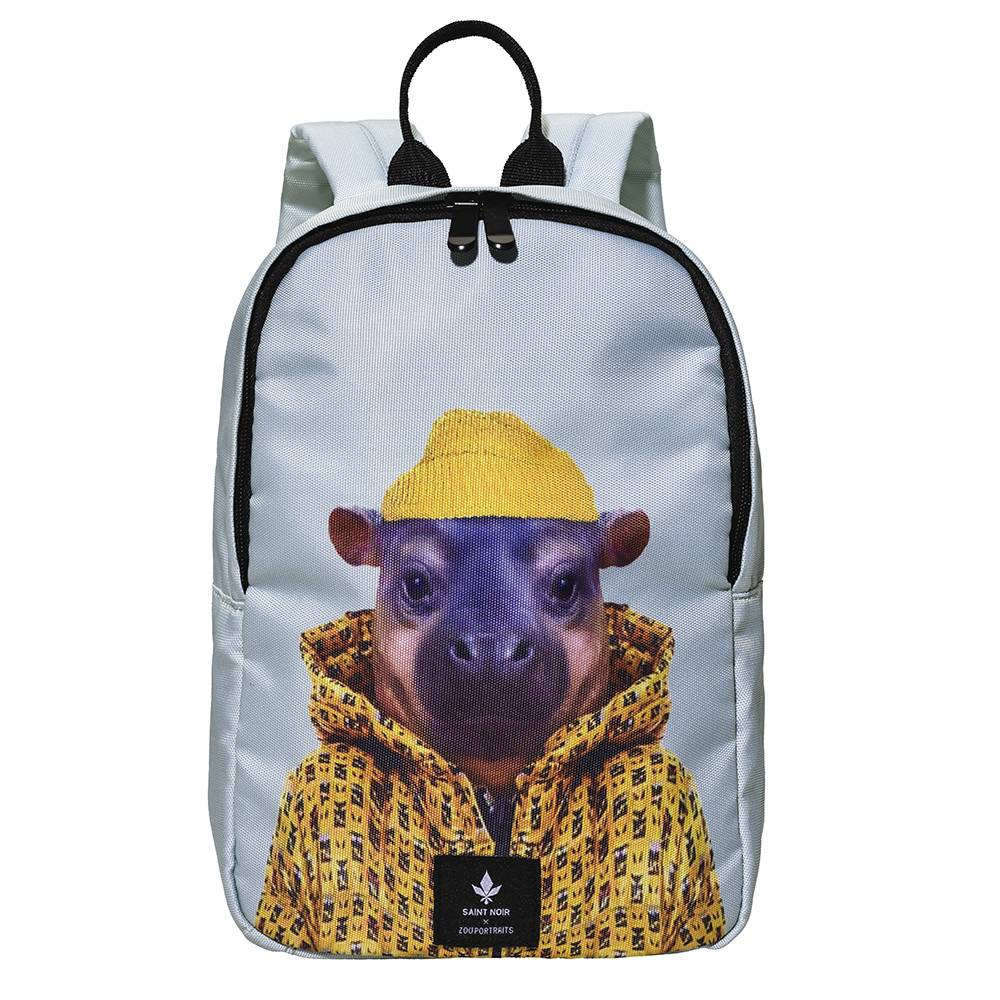 Rucksack Accessoire für Kinder - Little Hippo - Zoo Portraits
