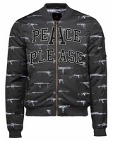 Collegejacke Unisex - Peace - Nick Veasey Collection