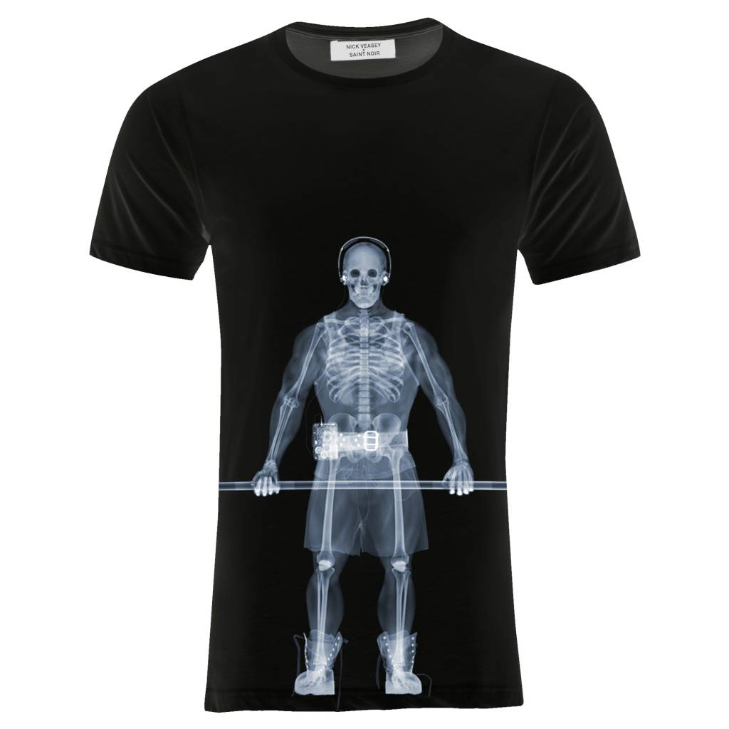 T-Shirt Herren - Muscle - Nick Veasey Collection