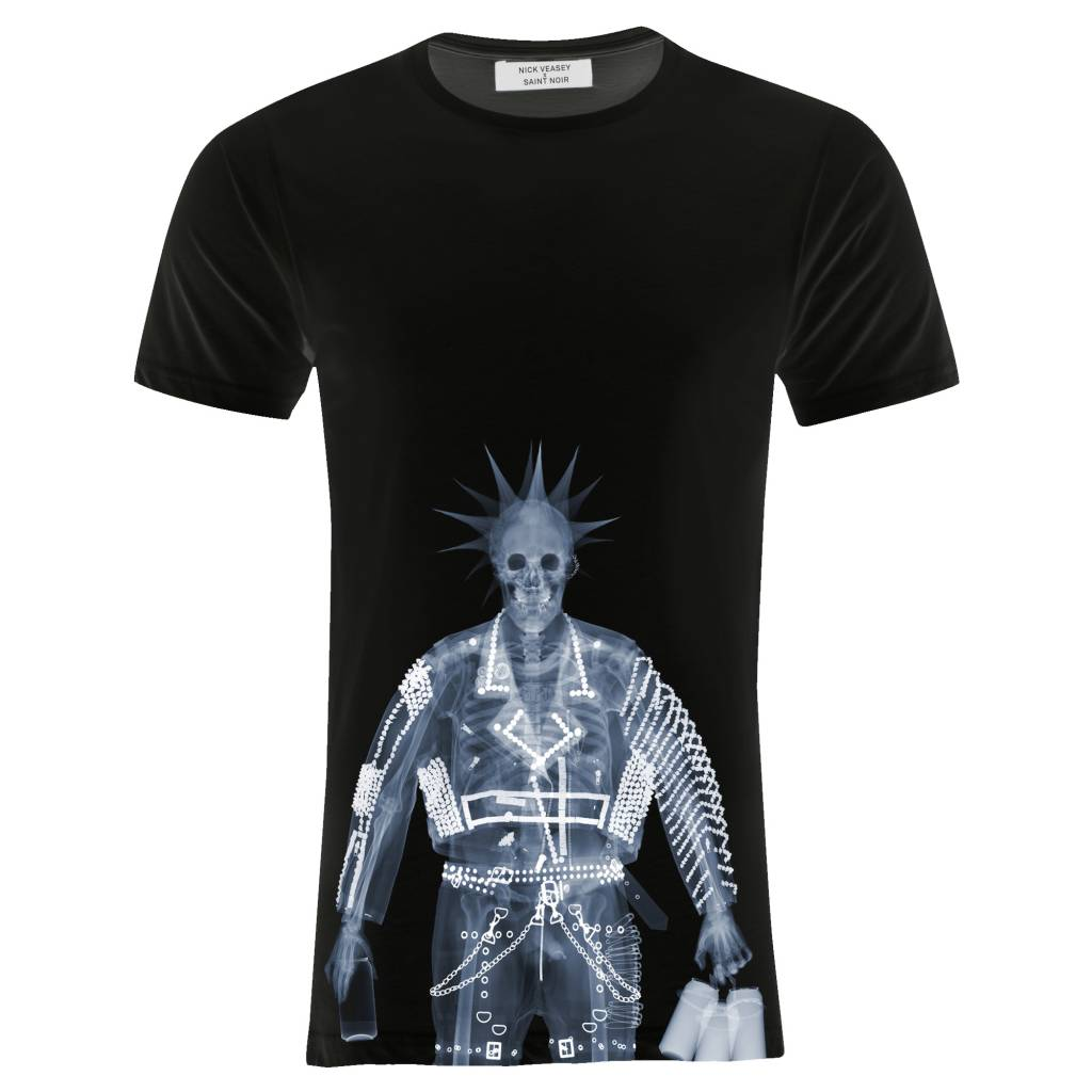T-shirt Men - Punk - Nick Veasey Collection