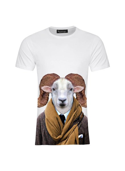 T-shirt Men - Texas Sheep - Zoo Portraits