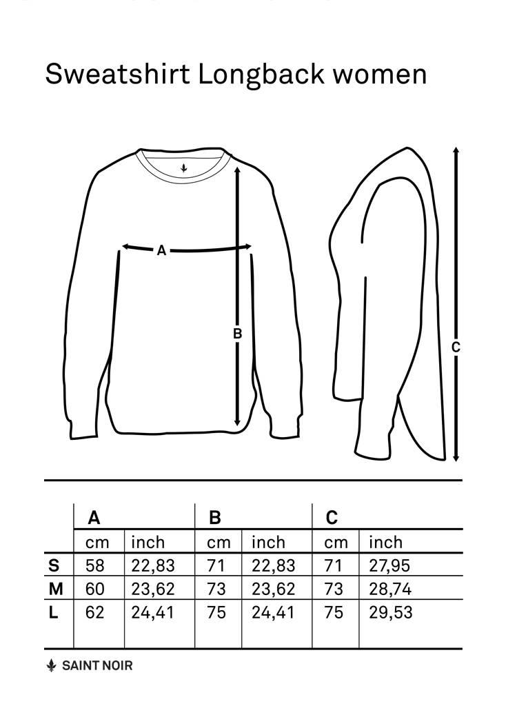 Sweatshirt Longback Women - Fresh