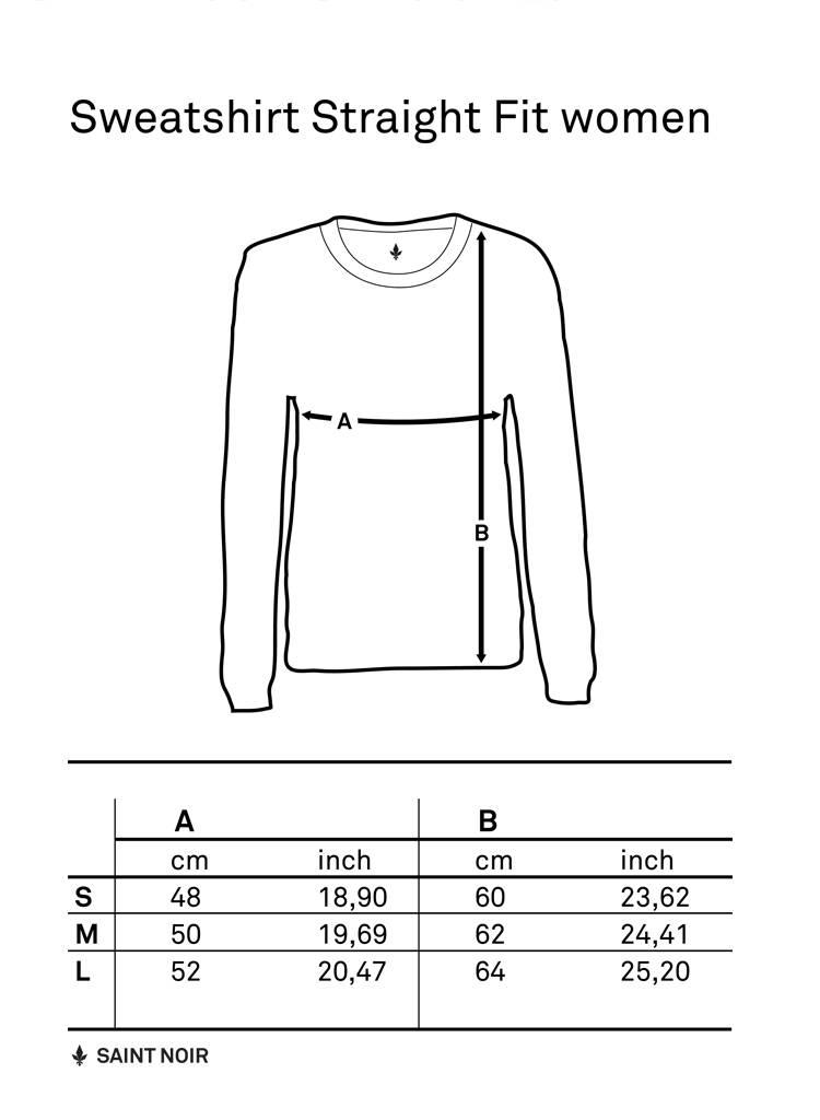Sweatshirt Straight Fit Women - Je Te Veux