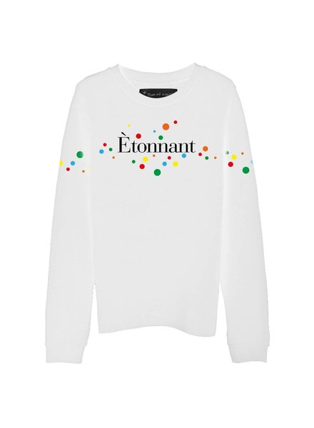 Sweatshirt Straight Fit Women - Étonnant