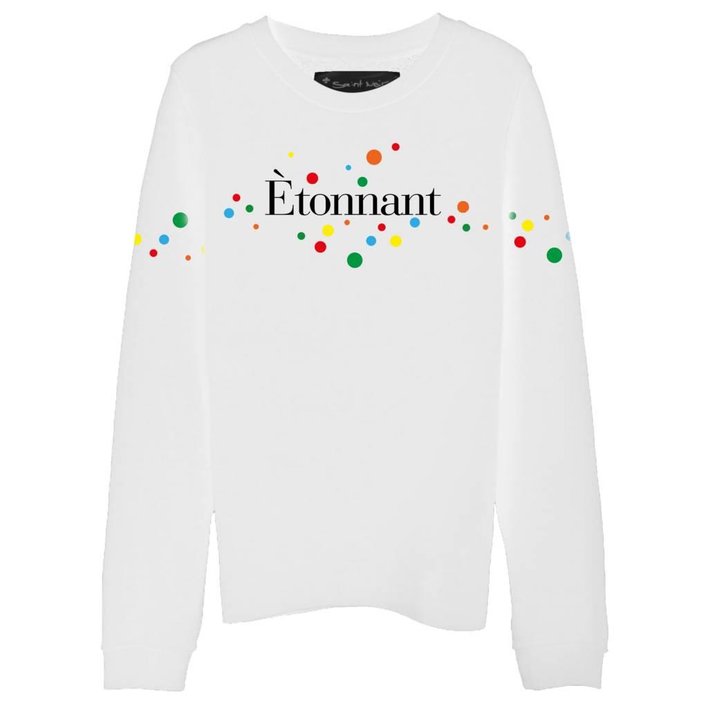 Sweatshirt Straight Fit Damen - Étonnant