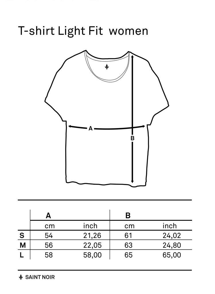 T-Shirt Light Fit Damen - Je Te Veux