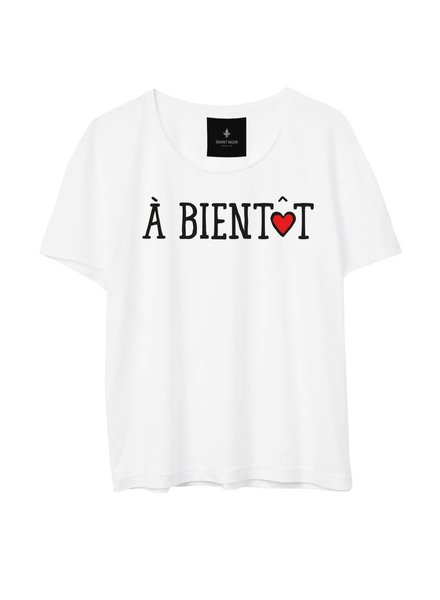 T-shirt Light Fit Women - À Bientôt