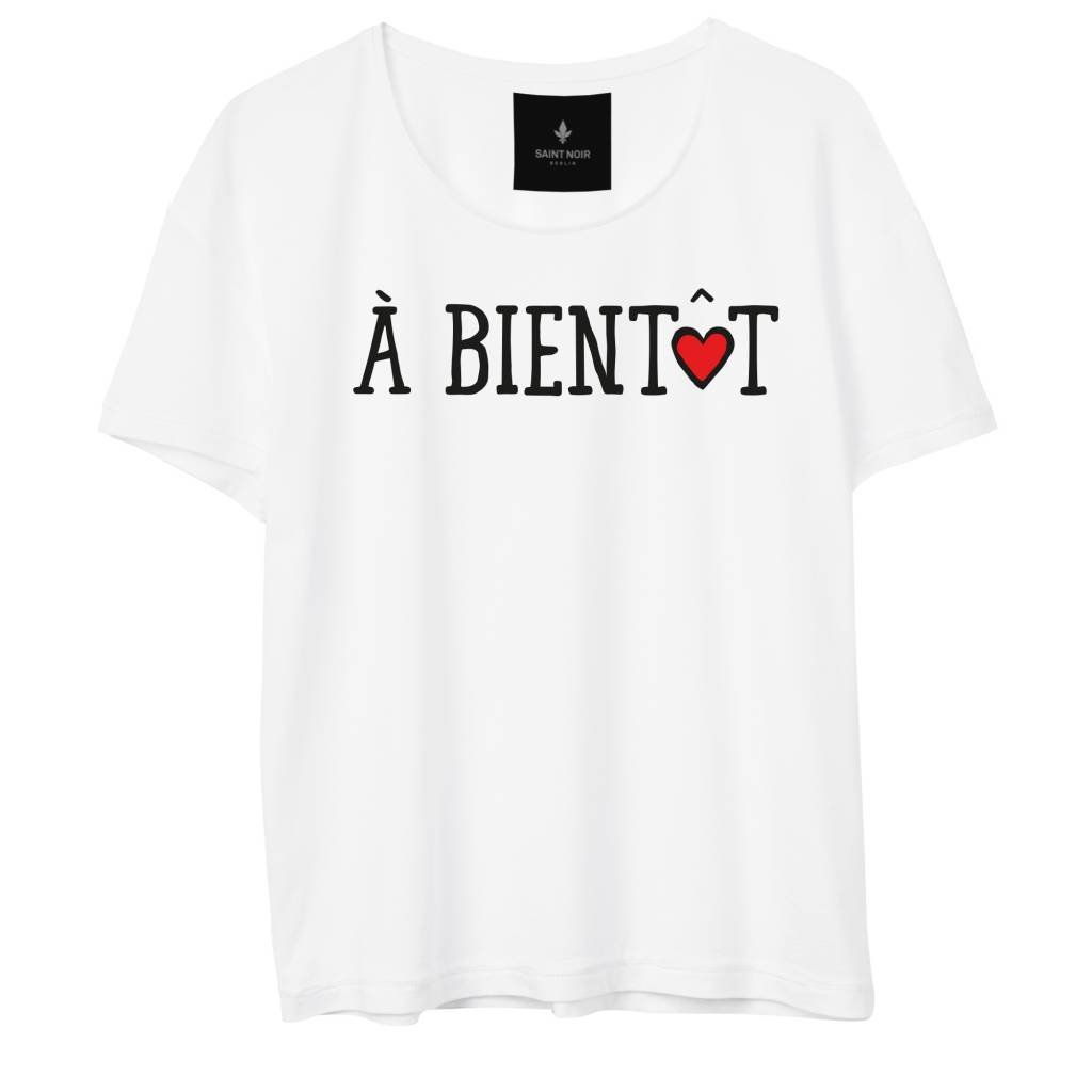 T-Shirt Light Fit Damen - À Bientôt