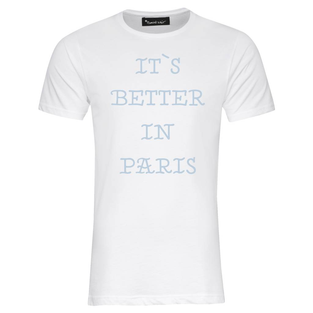 T-Shirt Herren - Better Paris