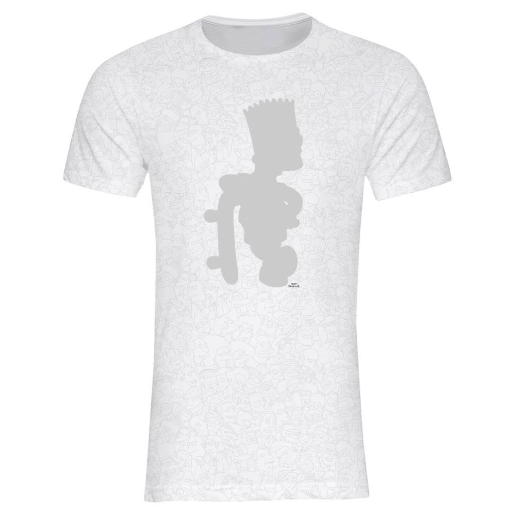 T-Shirt Herren - Bart - Simpsons Collection