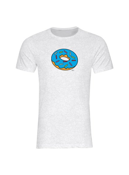 T-Shirt Herren - Donut - Simpsons Collection