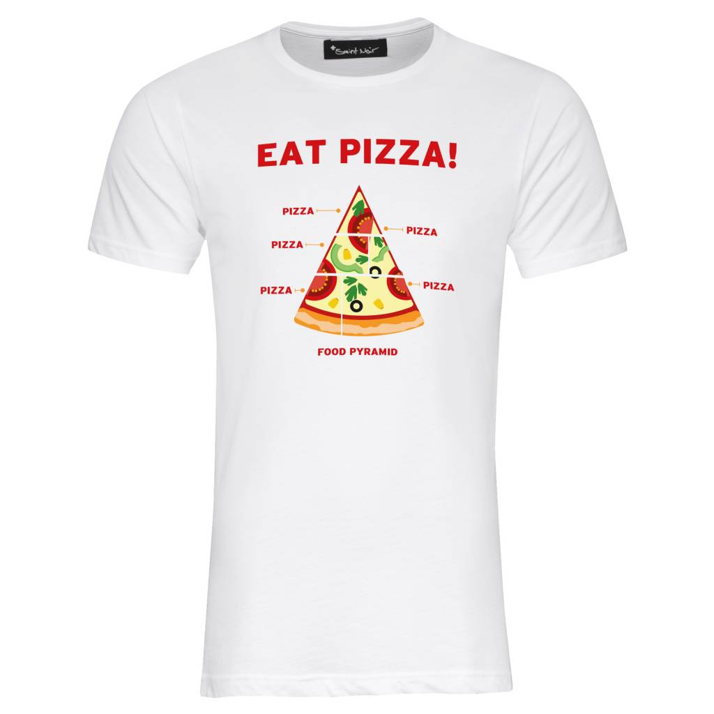 T-shirt Men - Pizza
