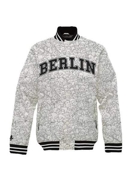 Collegejacke Unisex - Berlin - Simpsons Collection
