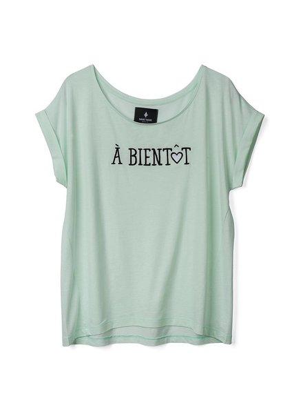 T-shirt Round Neck Women - À Bientôt