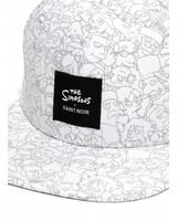 Snapback Cap Accessory - Simpsons White - Simpsons Collection