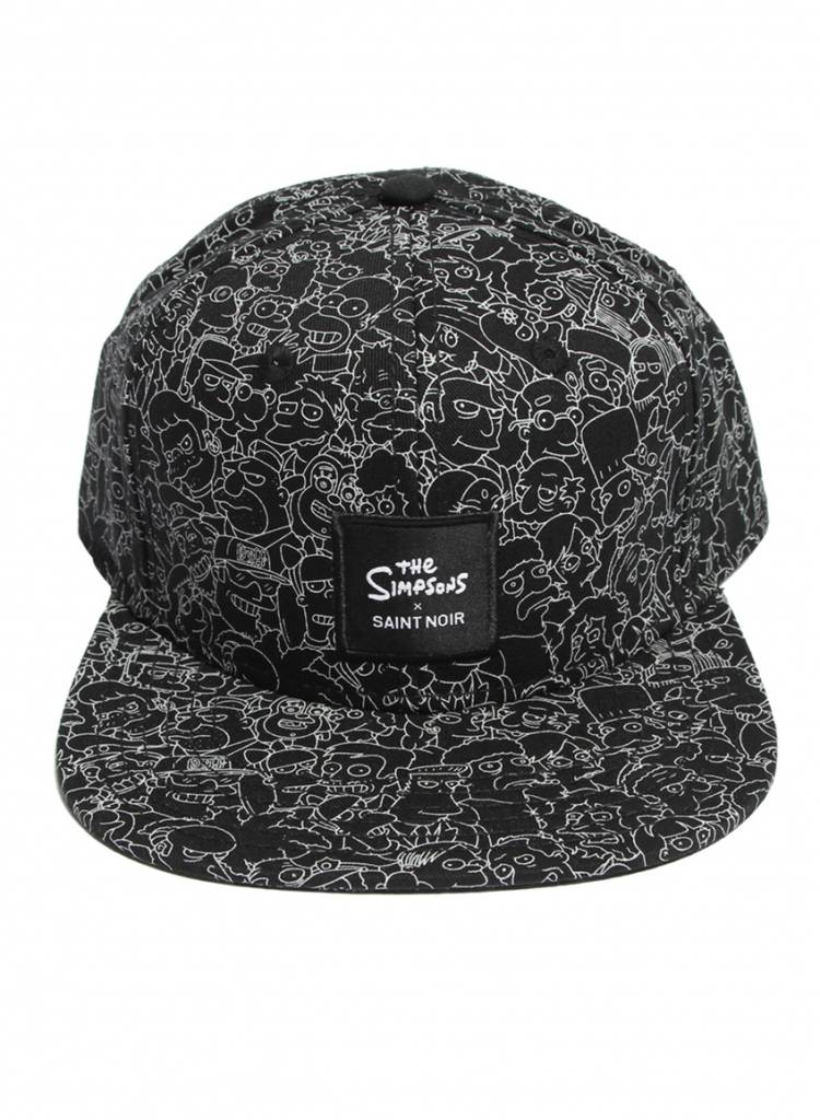 Snapback Cap Accessoire - Simpsons Black - Simpsons Collection