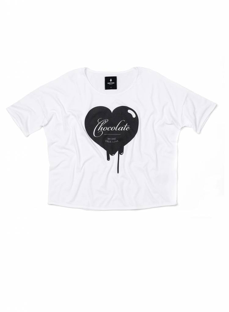 T-Shirt Loose Fit Damen - Chocolate
