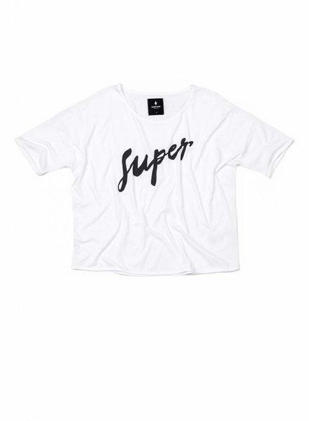 T-Shirt Loose Fit Damen - Super