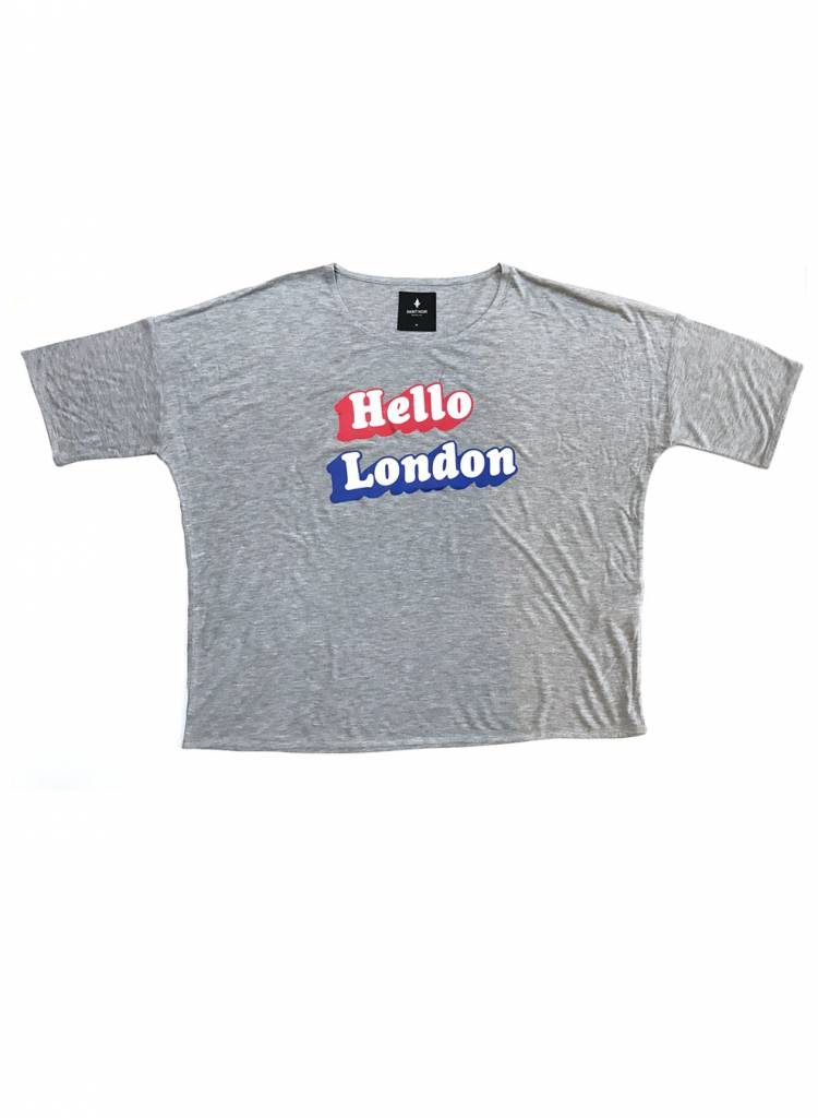 T-shirt Loose Fit Women - Hello London