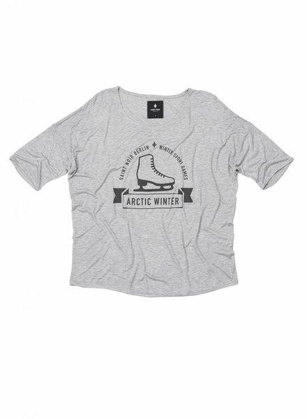 T-Shirt Loose Fit Damen - Artic Winter