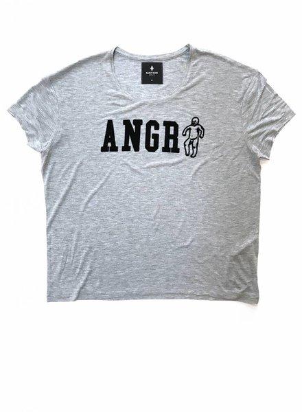 T-Shirt Light Fit Damen - Angry