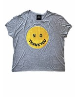 T-Shirt Light Fit Damen - No Thank You