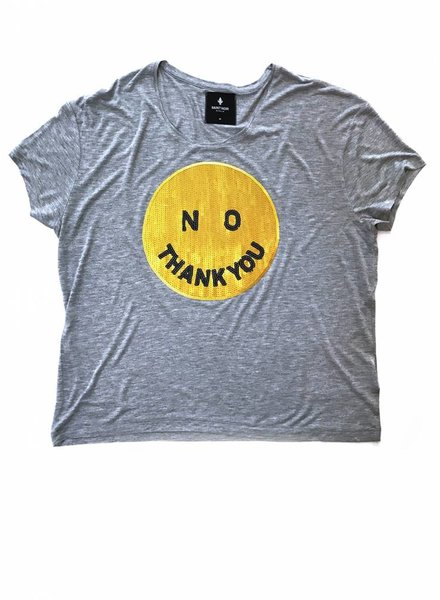 T-shirt Light Fit Women - No Thank You