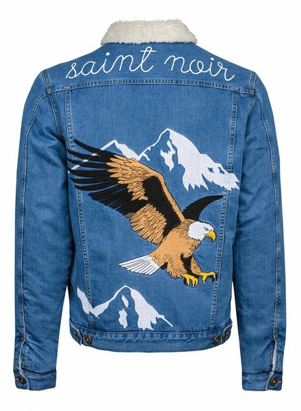 Denim Jacket Unisex - Flying Eagle