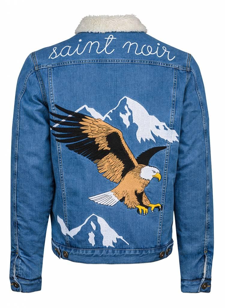 Denim Jacket Unisex - Flying Eagle