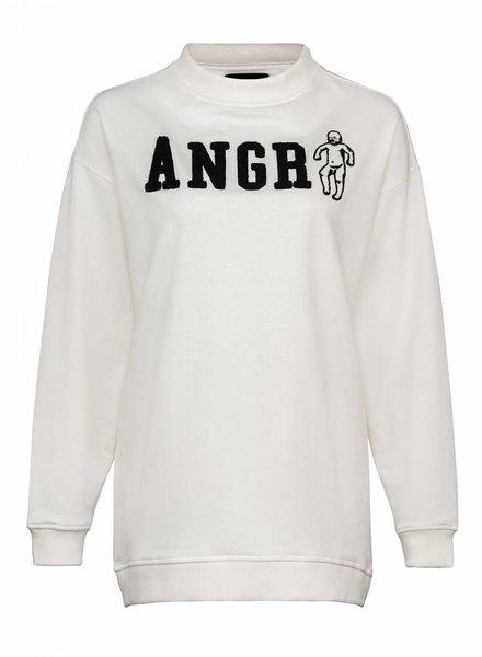Sweatshirt Oversized Damen - Angry