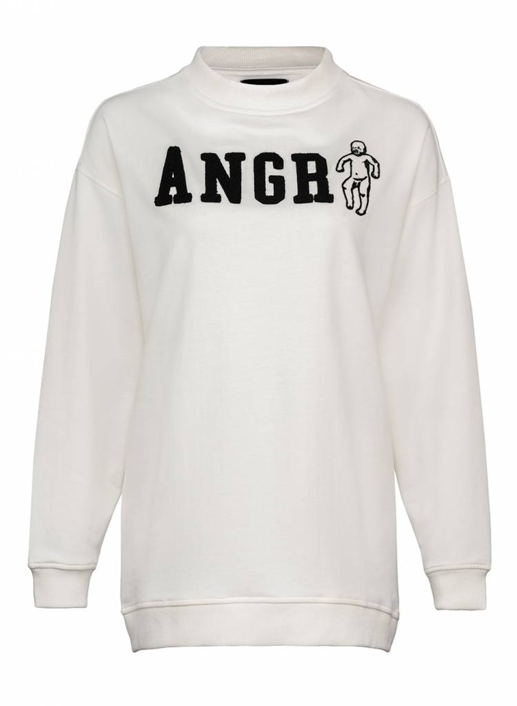 Sweatshirt Oversized Damen - Angry