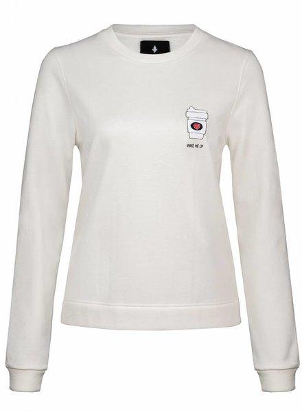 Sweatshirt Straight Fit Women - Wake Me Up