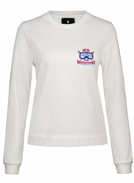 Sweatshirt Straight Fit Women - Mountains
