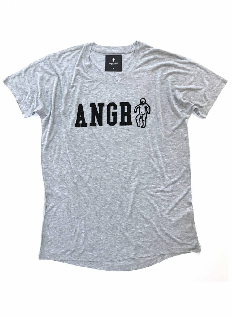 T-shirt Loose Fit Men - Angry
