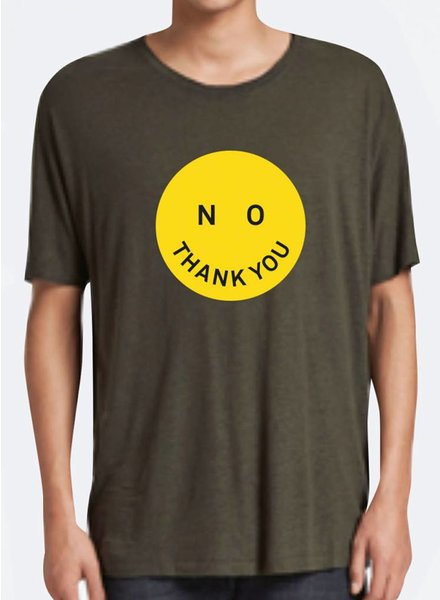 T-Shirt Loose Fit Herren - No Thank You