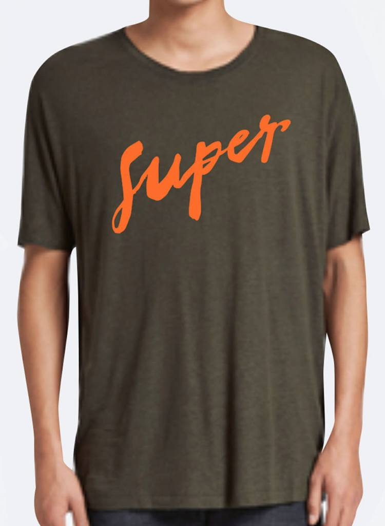 T-Shirt Loose Fit Herren - Super