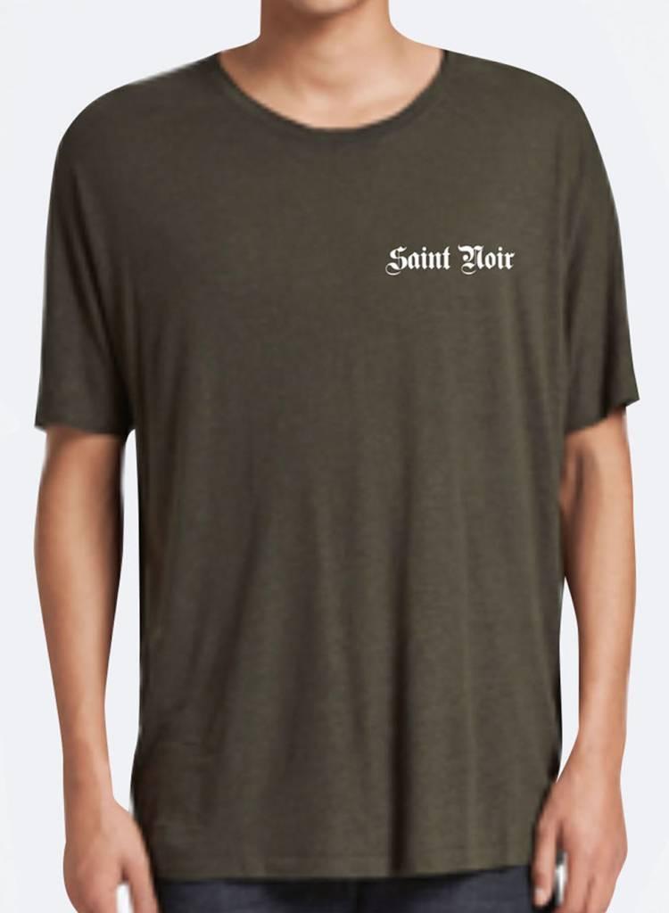 T-Shirt Loose Fit Herren - Old Noir