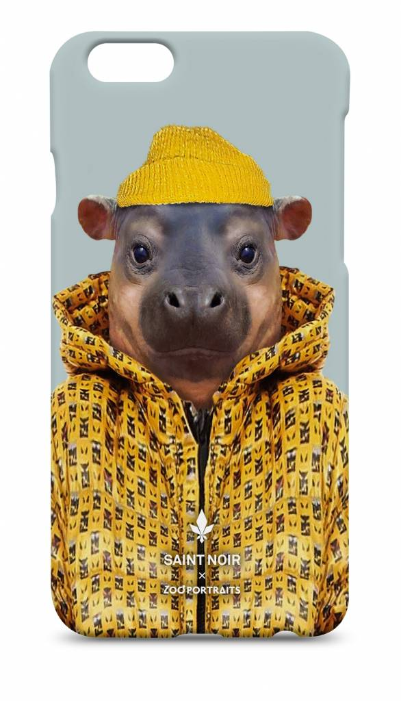 iPhone Case Accessoire - Little Hippo - Zoo Portraits