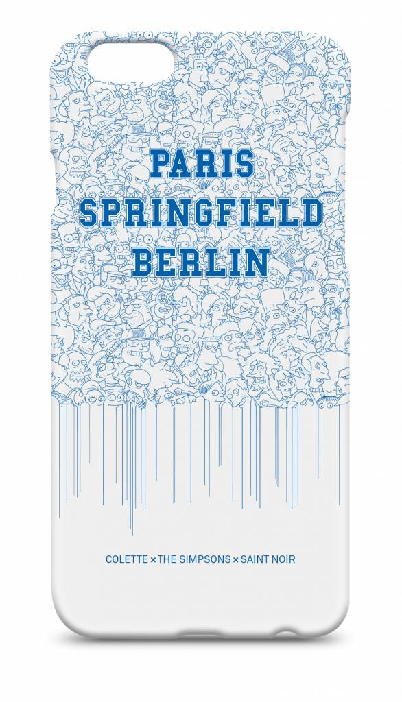 iPhone Case Accessoire - Springfield Drips - Simpsons Collection